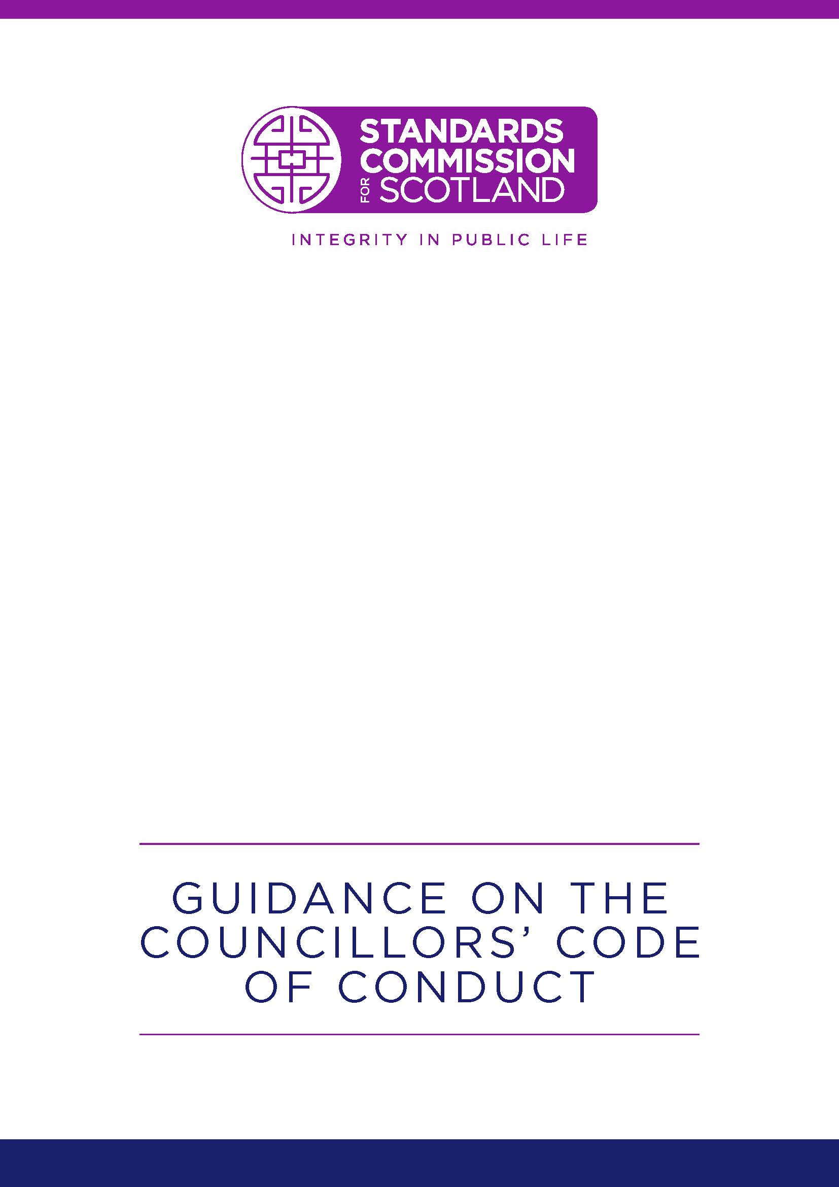 Guidance on the Councillors' Code of Conduct